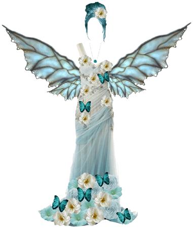 teal fairy