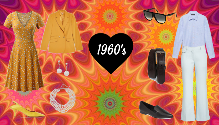 1960's Men and Women Outfits