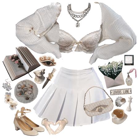 summer in white 🤍