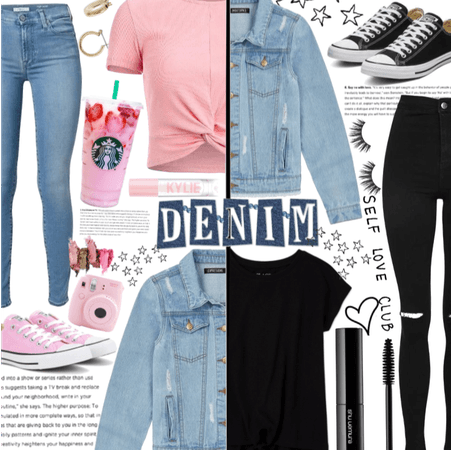 Girly Or Goth? Nat. Denim day