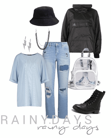 rainy day streetwear