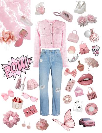 pink girly blazer