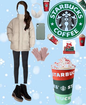 Winter Starbucks