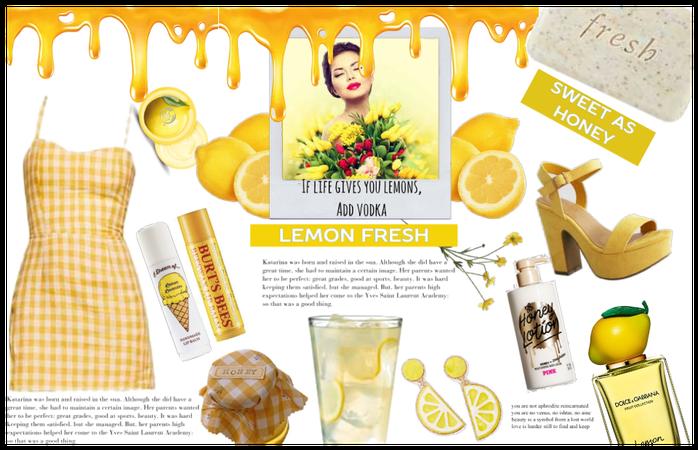 Honey n Lemonade- National Lemonade Day