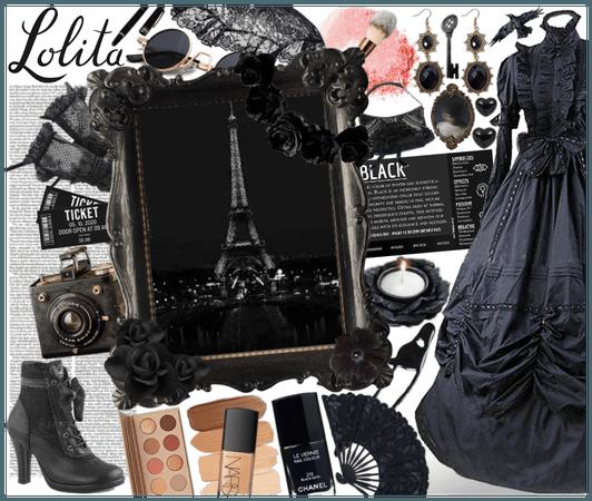#Black #Lolita #Lolita/doll-kei-challenge