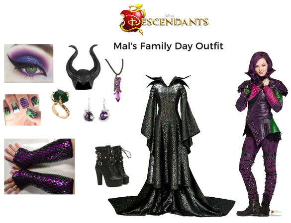 Mal's Family Day outfit
