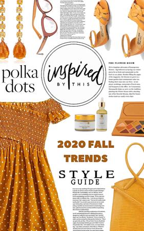 polka dot + off shoulder + sundress