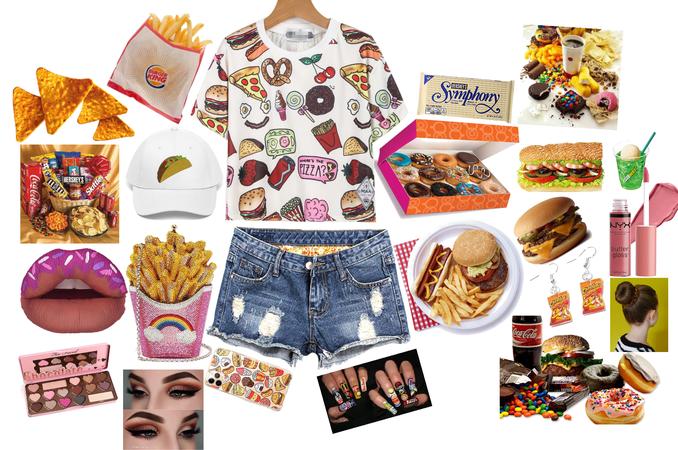 junk food/ things I love!