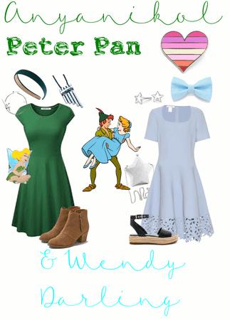 Peter Pan + Wendy Darling