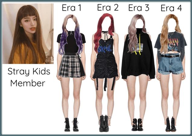 Stray Kids Member Through 4 Era's