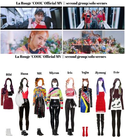 라로그 [𝗟𝗮 𝗥𝗼𝘂𝗴𝗲] - 'Cool' MV    second group/solo scenes (27022021)