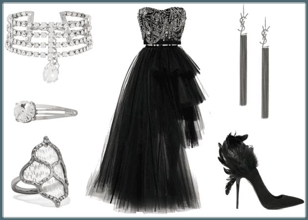 BTS Black Swan inspired outfit II