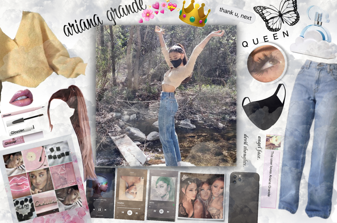 THE QUEEN OF NOW AND FOREVER: ARIANA GRANDEEEE 💗👑👑👑👑👑