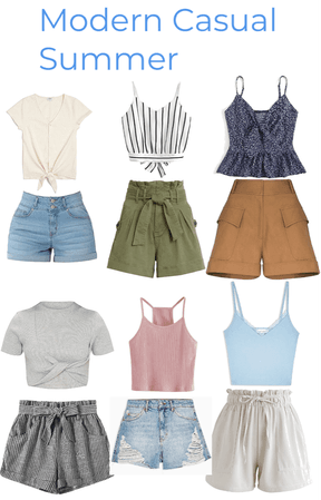 Emily's Modern Casual Summer Style