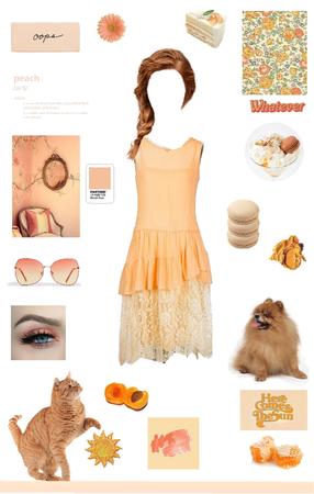 Muted Pastels: Orange