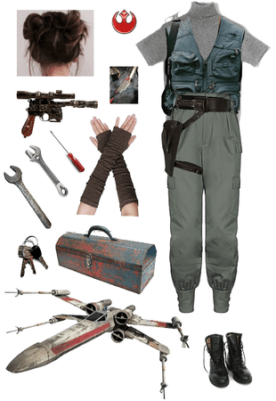 resistance x-wing mechanic