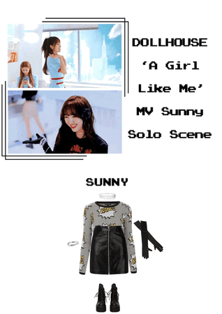 {DOLLHOUSE} 'A Girl Like Me' MV Sunny Solo Scene