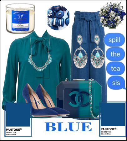 Blue Chanel Edition