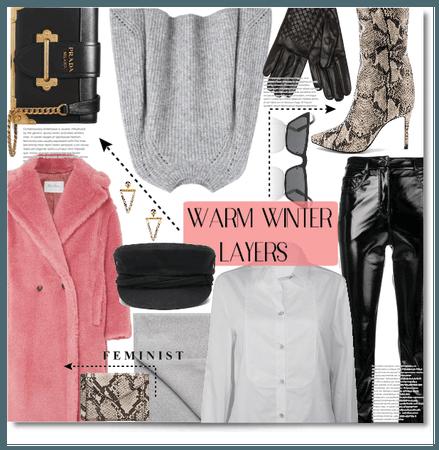 WARM WINTER LAYERS