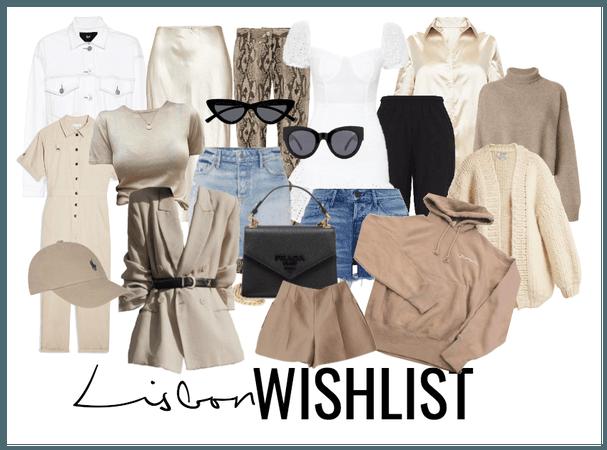 lisbon wishlist