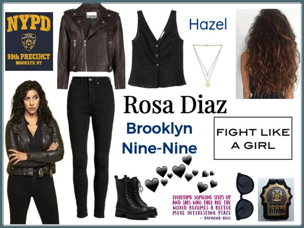 Rosa Diaz | #brooklynninenine | @hunterofartemis