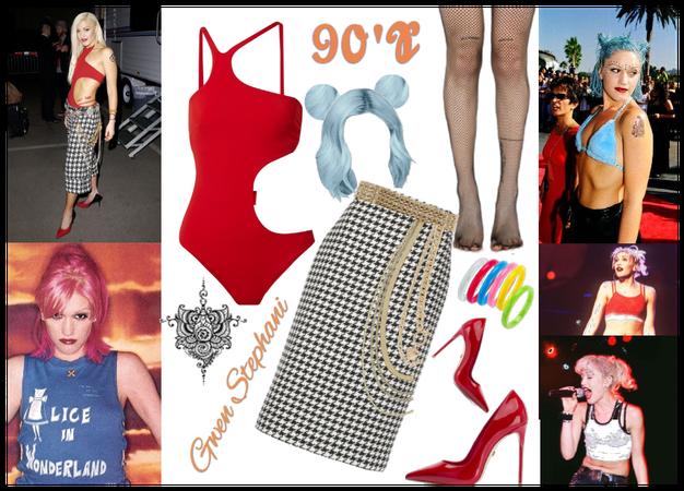 90's Gwen Stephani