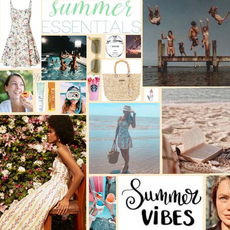 Summertime Moodboard