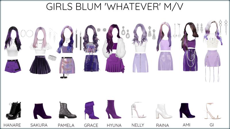 GIRLS BLUM 'WHATEVER' M/V