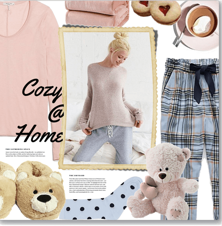 Cute & cozy at home