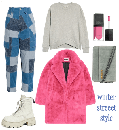 Pink and winter