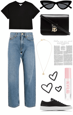 chill outfit🖤