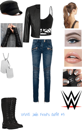 WWE Jade Frost Outfit #3