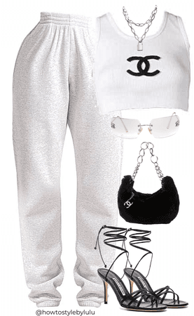 Sweats and heels? yes or no?