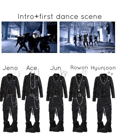 Undercover- intro+first dance scene