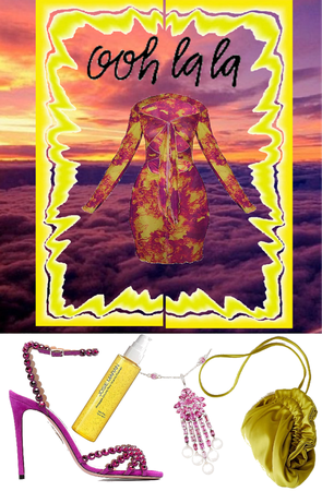 Purple & Yellow: Sunset Aesthetic