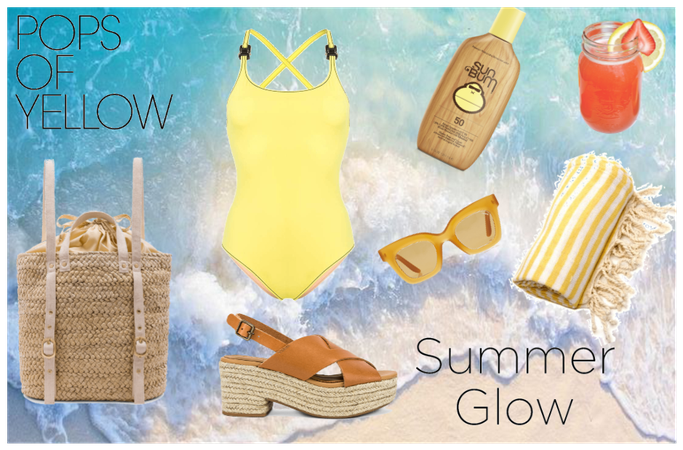 ☀🏖🌊🦑🦀Yellow Summer Glow🦀🦑🌊🏖☀
