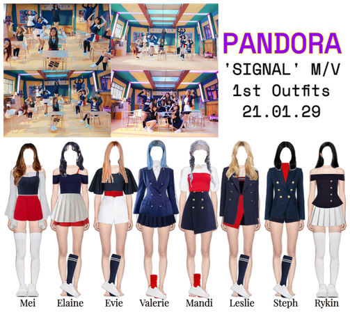 """""""SIGNAL"""" 1st Outfits"""