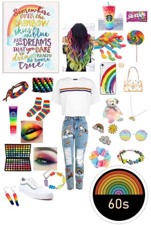 Cute Rainbow Style