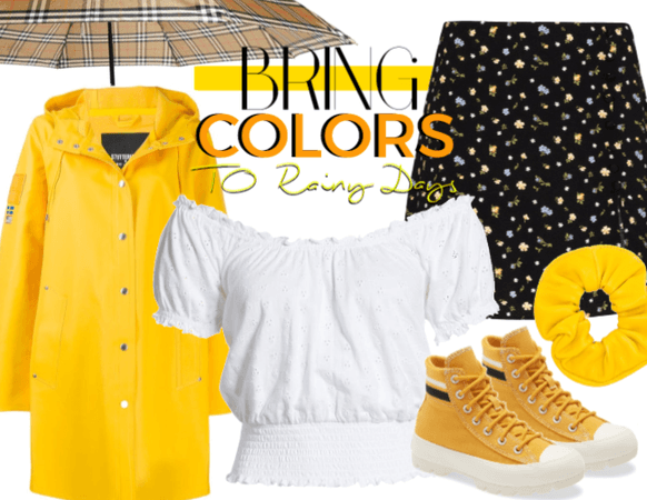 bring color to rainy days