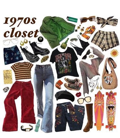 1970s closet