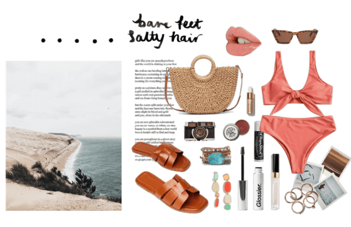 sea salt hair & the ocean breeze