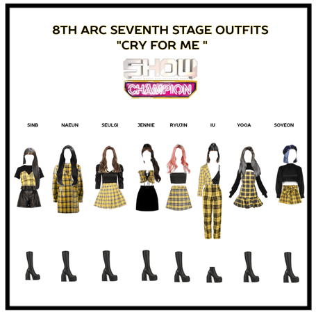 8th arc seventh stage outfits