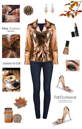 Fall Trends: Metallic Jackets