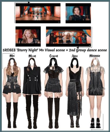 5ROSES 'Starry Night' Mv Visual + 2nd Dance Scene