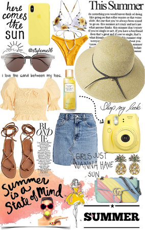 Yellow for summer