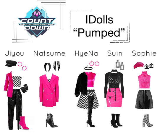 "IDolls' ""Pumped"" MCountdown stage"