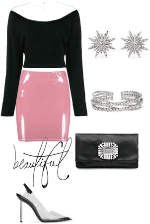 Diamonds and pink