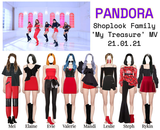"PANDORA ""My Treasure"" Shoplook Family MV"