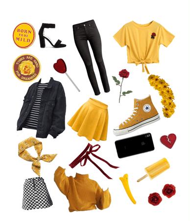Yellow Scarlet