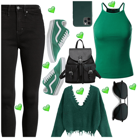Green and black 💚🖤